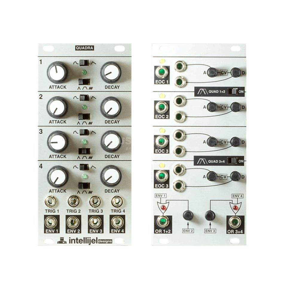 Intellijel Quadra + Quadra Expander - Set Product Image