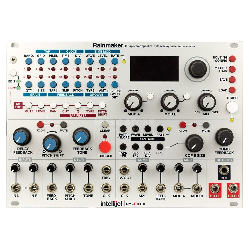 Intellijel Rainmaker 16-tap stereo Delay Product Image