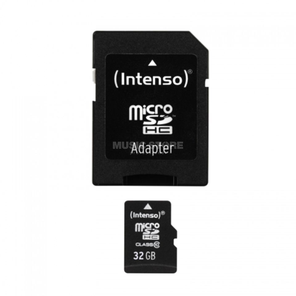 Intenso 32GB Micro SDHC Card CL10 mit Adapter/ für Card Recorder Produktbild