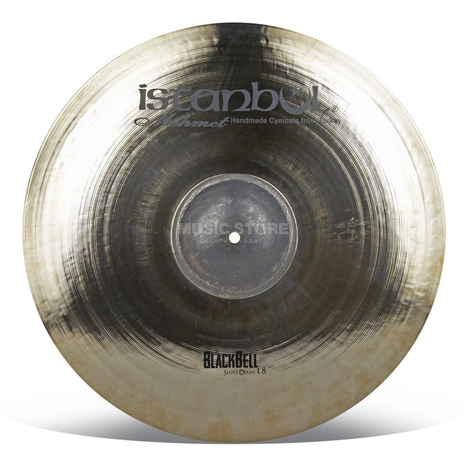 "Istanbul BB-SC18 Shiny Black Bell Crash 18"" Product Image"