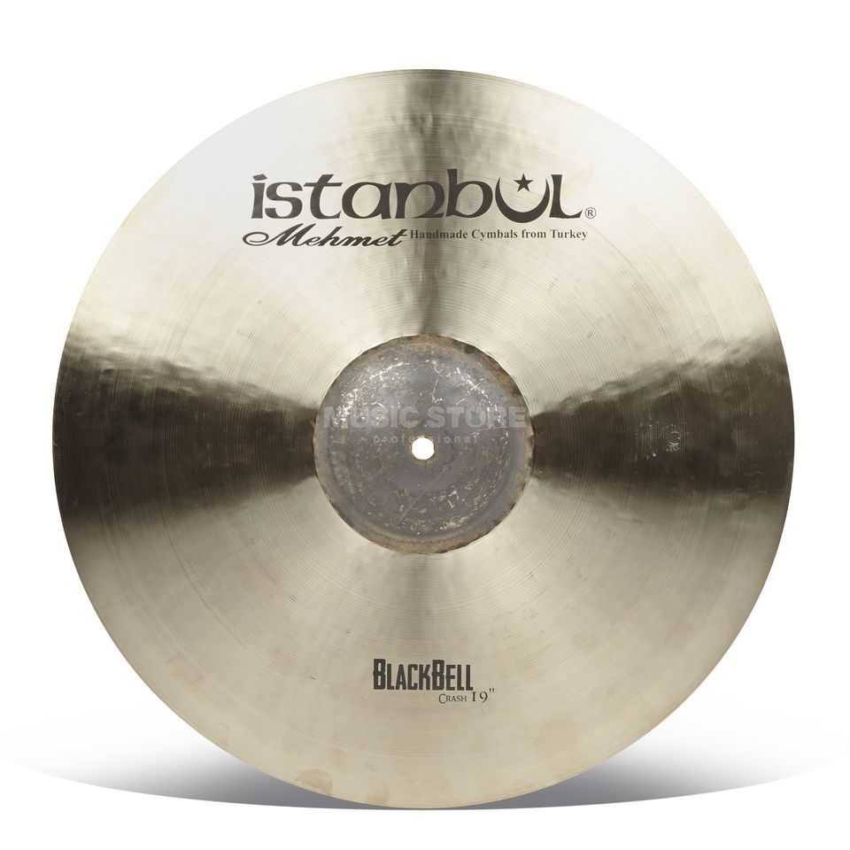 "Istanbul BB-SC19 Shiny Black Bell Crash 19"" Product Image"