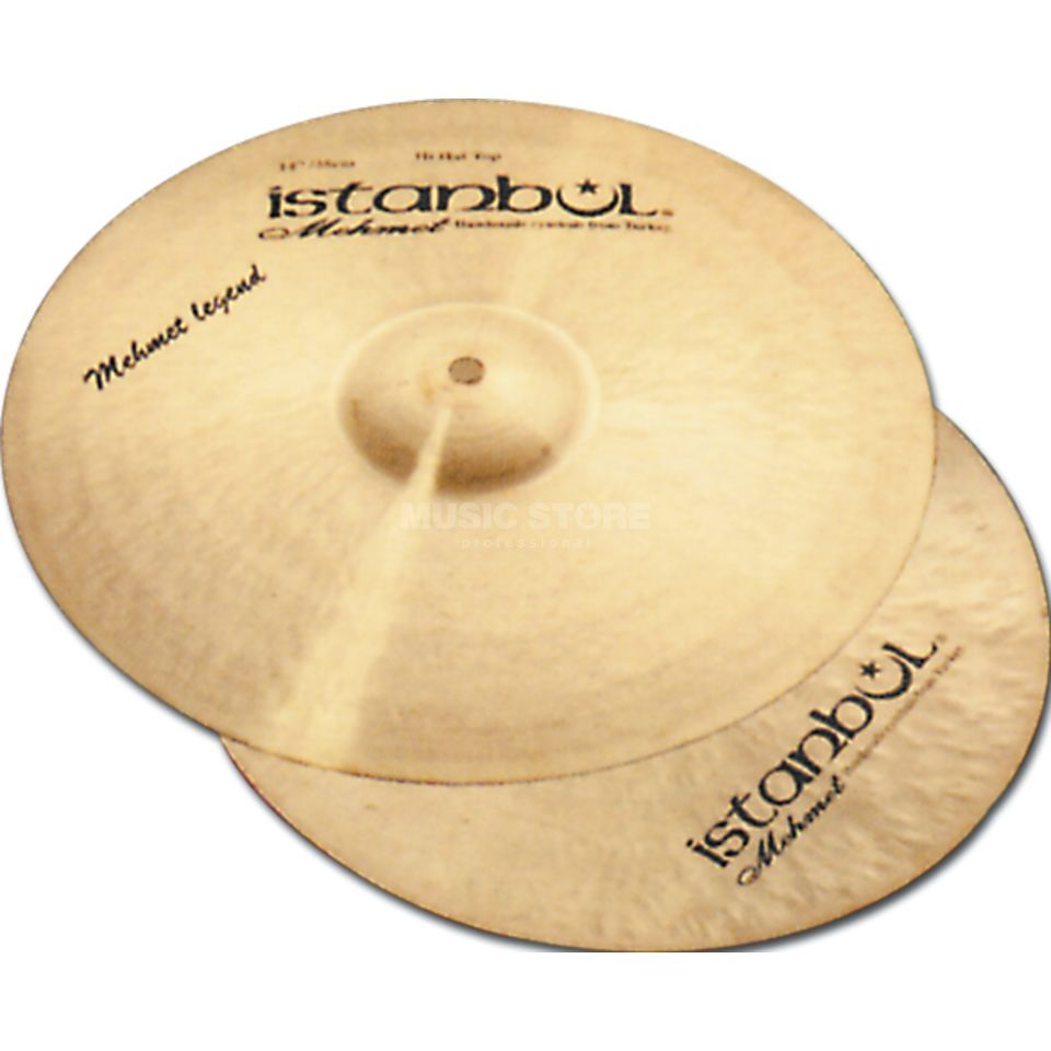 "Istanbul Mehmet Legend HiHat 14"", ML-HH14 Product Image"
