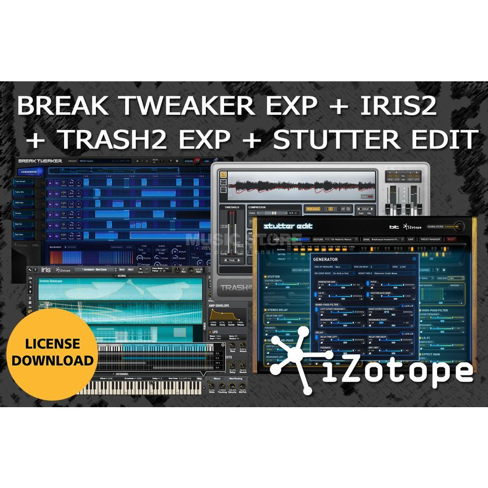 iZotope Creative Bundle CODE  Product Image