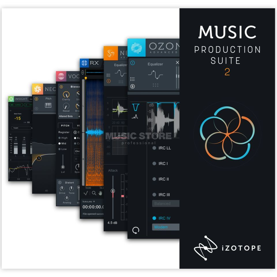 iZotope Music Production Suite 2 Product Image