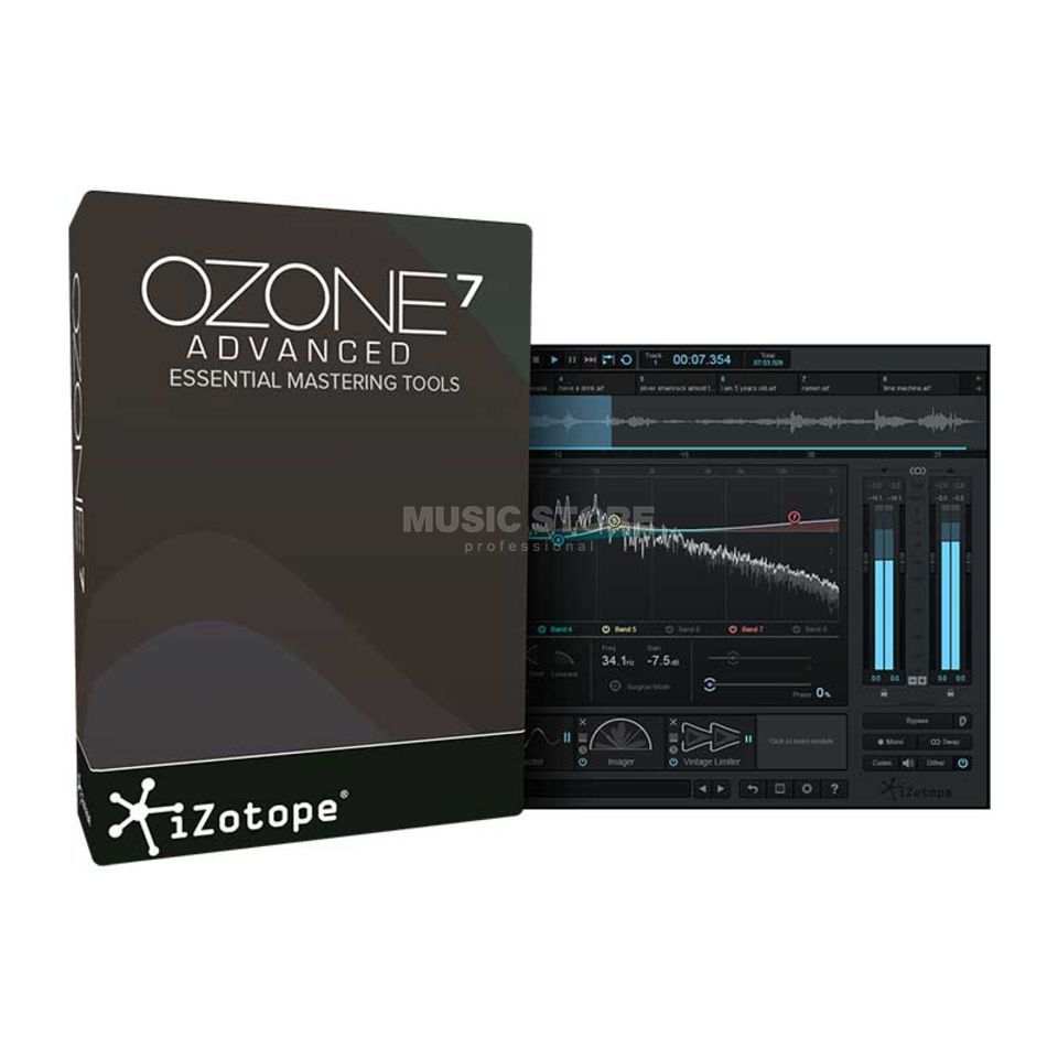 iZotope Ozone 7 Advanced License Code Produktbillede