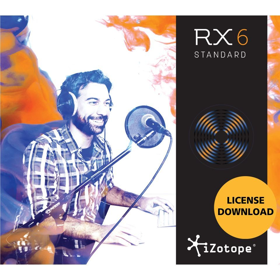 iZotope RX 6 Standard License Code Product Image