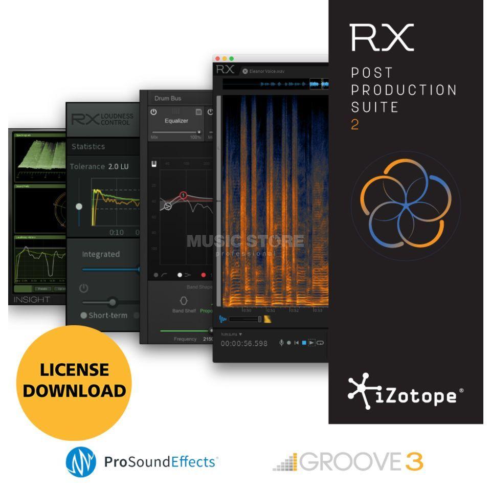 iZotope RX Post Prod Suite 2 License Code