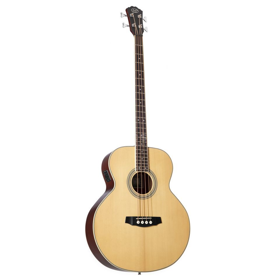 Jack & Danny ABG-1 Acoustic Bass Natural Product Image