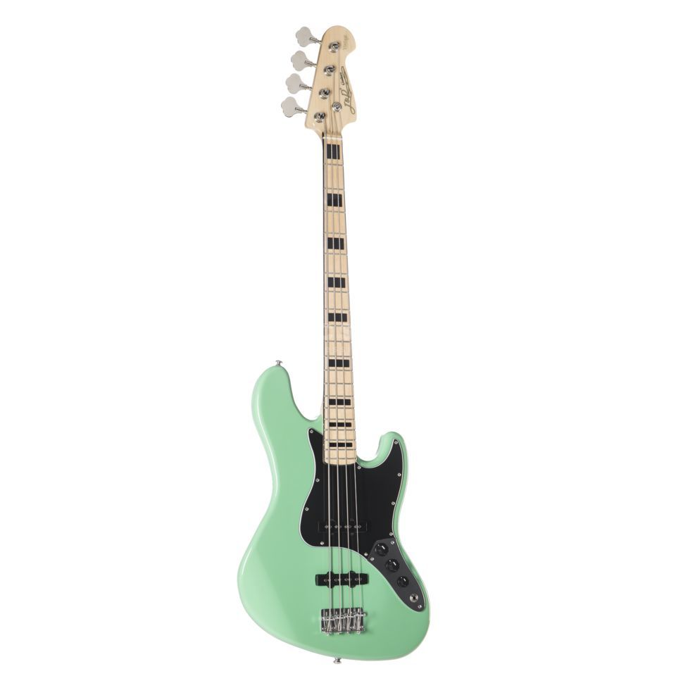 Jack & Danny Bass guitar JB Vintage 1975 SFGR Surf Green Immagine prodotto