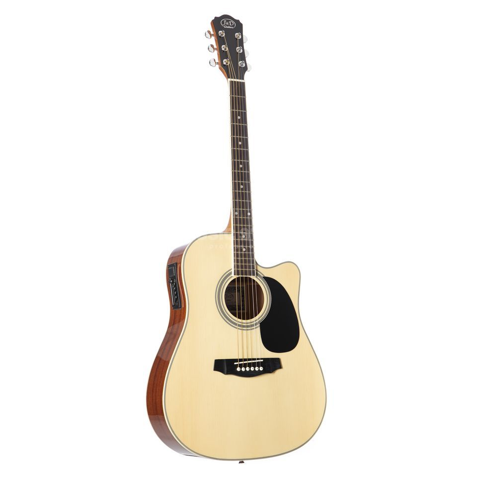 Jack & Danny D-110CE NT Natural Productafbeelding