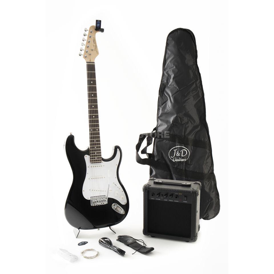 Jack & Danny E-Gitarre ST Pack BK Black