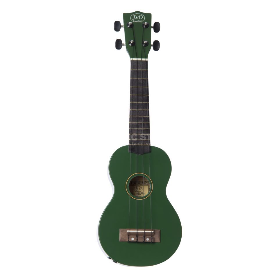 Jack & Danny UK-B1S GR Ukulele, Green, incl. Bag Product Image