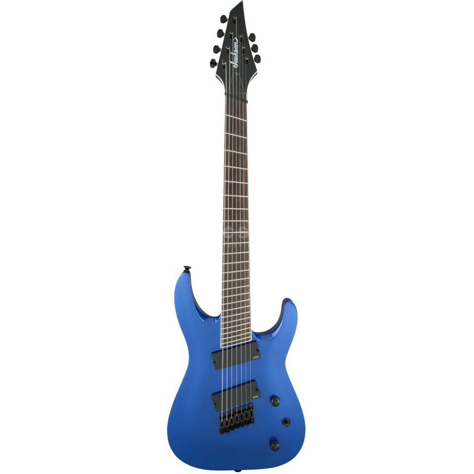 Jackson X Series Soloist Archtop SLAT7 MS Metallic Blue Product Image