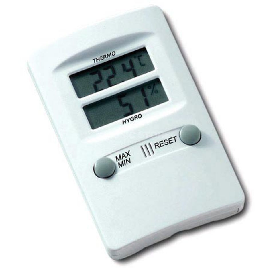 Jahn Hygrometer Electronic incl. Thermometer Produktbillede