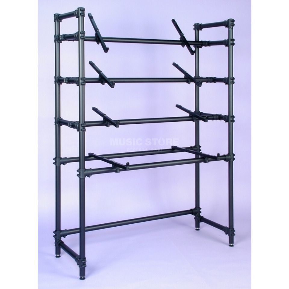 Jaspers Keyboard Rack 170-4-120 Black Product Image