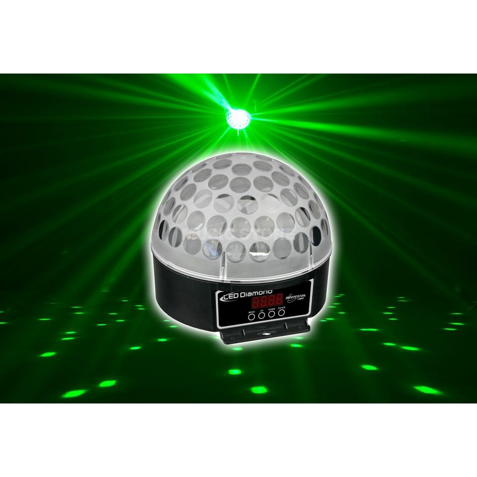 JB Systems LED Diamond LED Effekt mit 6x3W RGB-LEDs Produktbild