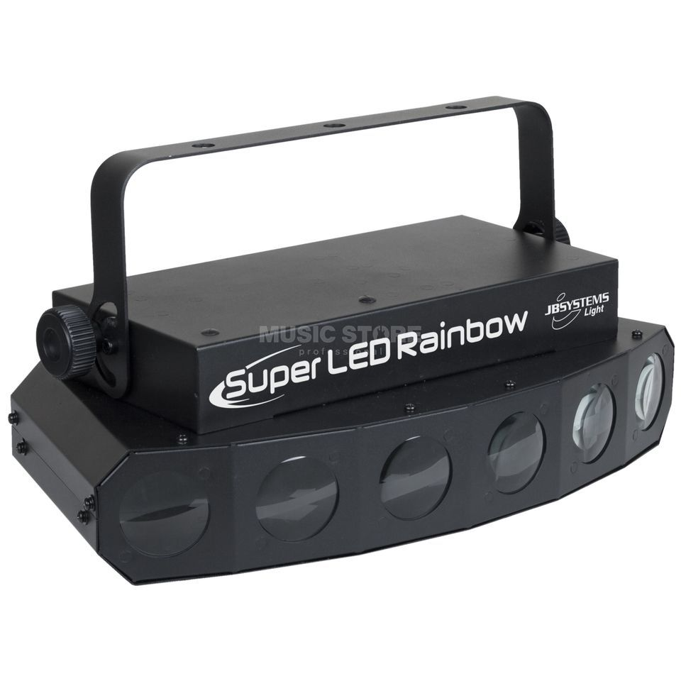 JB Systems Super LED Rainbow  6x 10W RGBW LEDs Produktbillede