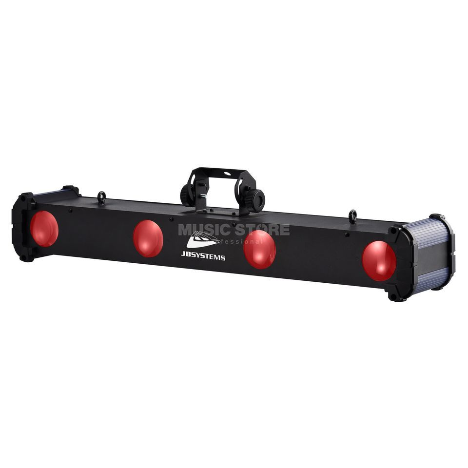 JB Systems Super Quadra Beam 4-fach LED Effekt, 36 x 1 Watt Produktbild