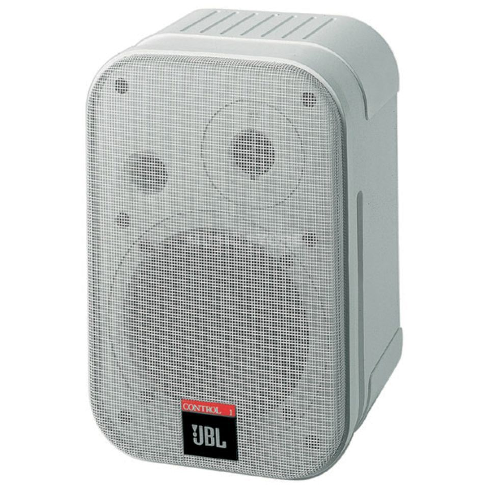 JBL Control 1 Pro Pair Installation Speakers, White Produktbillede