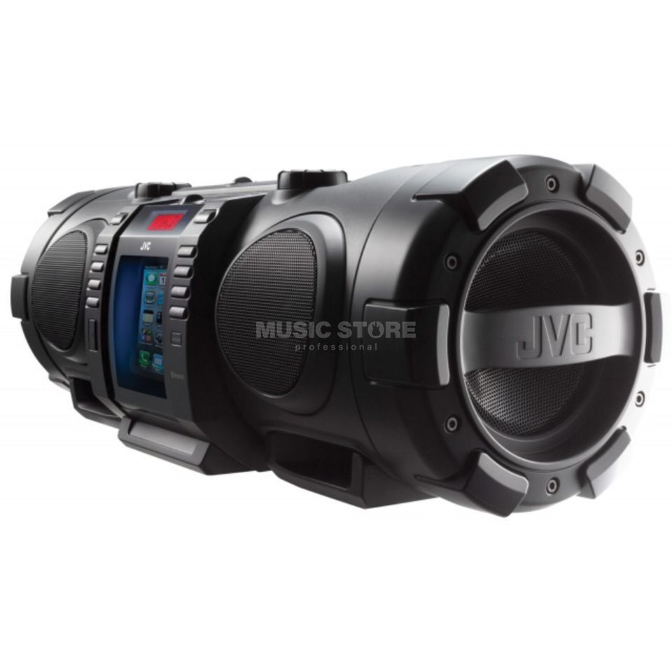 JVC RV-NB75B Boomblaster Black Lightning- and Bluetooth-fähig Product Image
