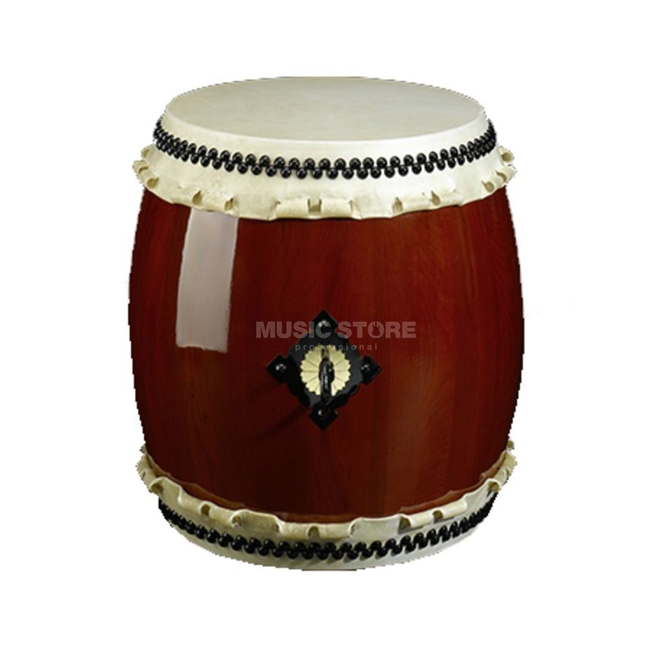 Kaiser Drums Miya-Daiko Small High-Quality, 33cm, roodbrown Productafbeelding