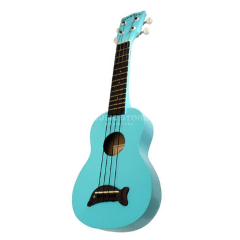 Kala Makala Soprano Ukulele LBL Light Blue incl. Bag Produktbild