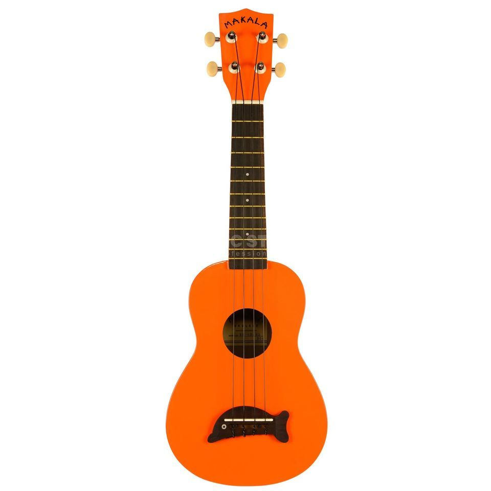 Kala Makala Soprano Ukulele Orange incl. Bag Produktbild