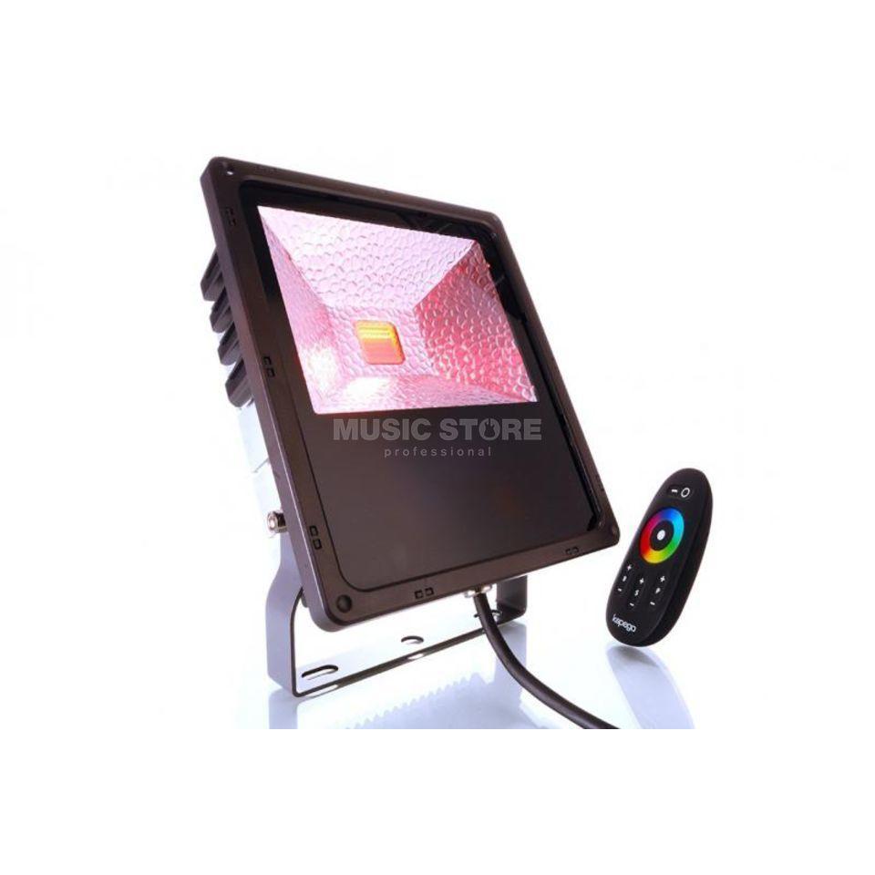 Kapego projecteur ext rieur rf rgb 60w 120 commande sans - Commande eclairage exterieur sans fil ...