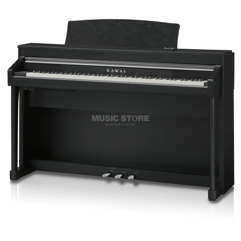 kawai ca 67 black digital piano. Black Bedroom Furniture Sets. Home Design Ideas