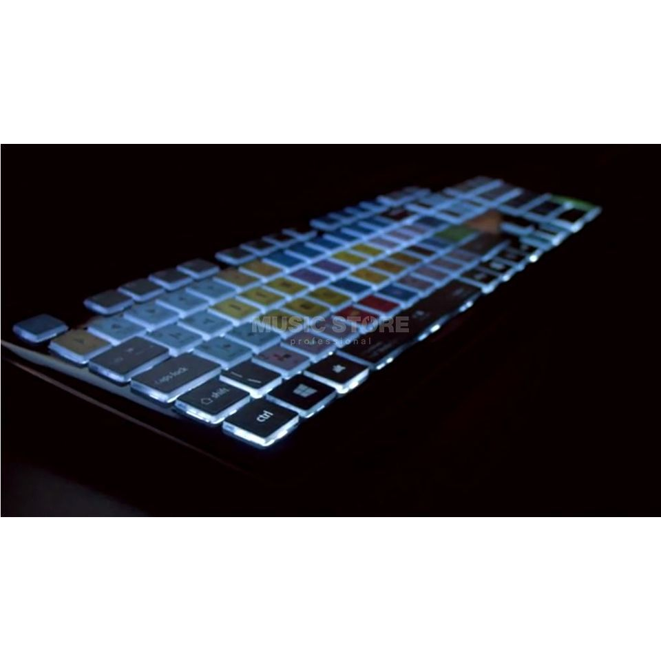 KB Covers Europe Backlit Keyb Cubase PC UK  Immagine prodotto