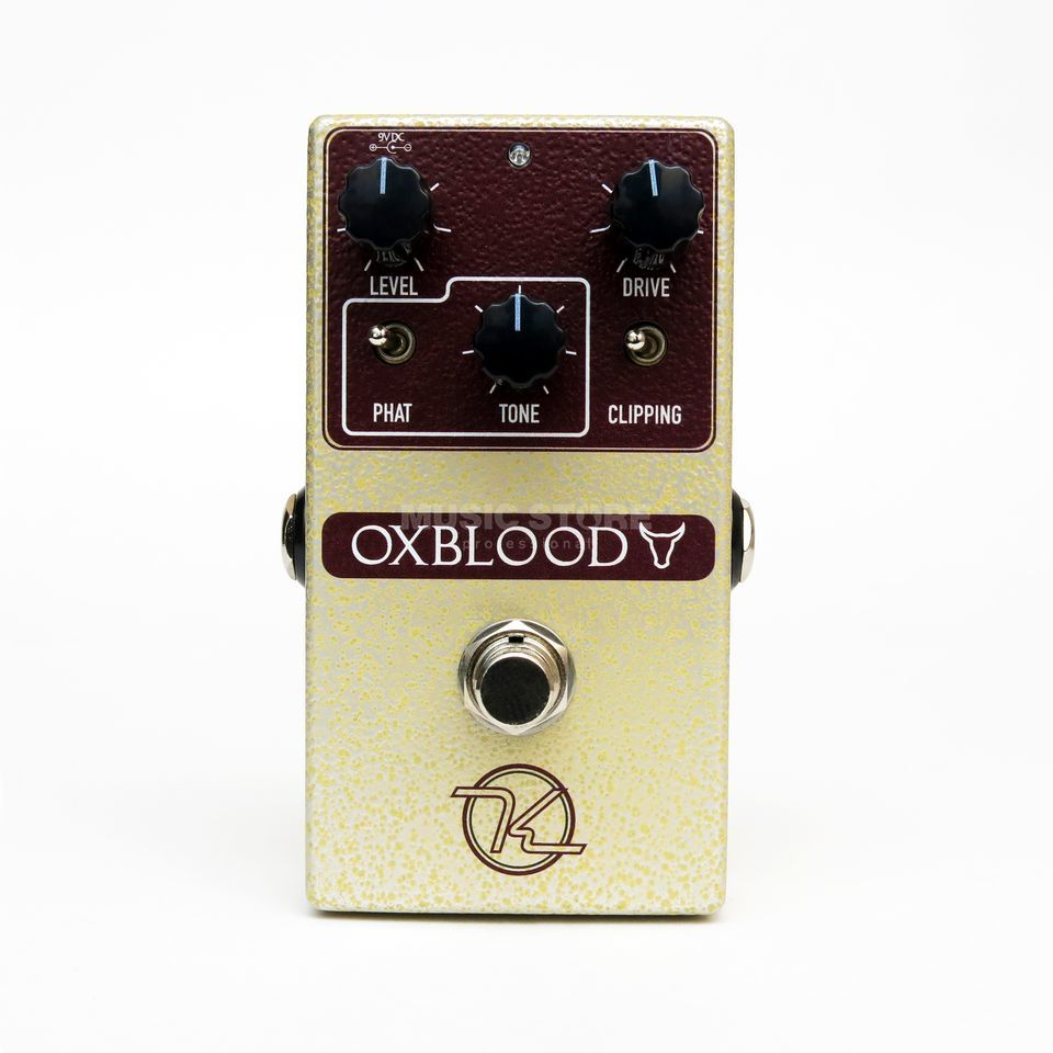 Keeley Electronics Oxblood Overdrive Produktbild