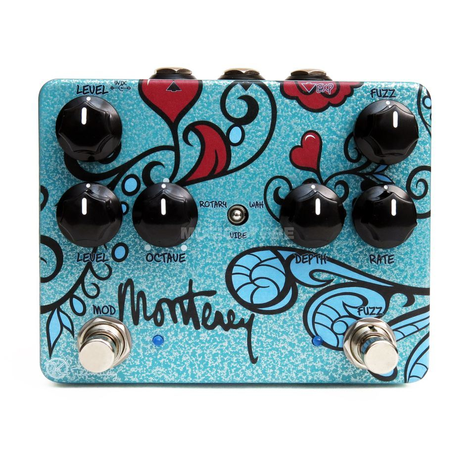 Keeley Monterey Rotary Fuzz Vibe Productafbeelding