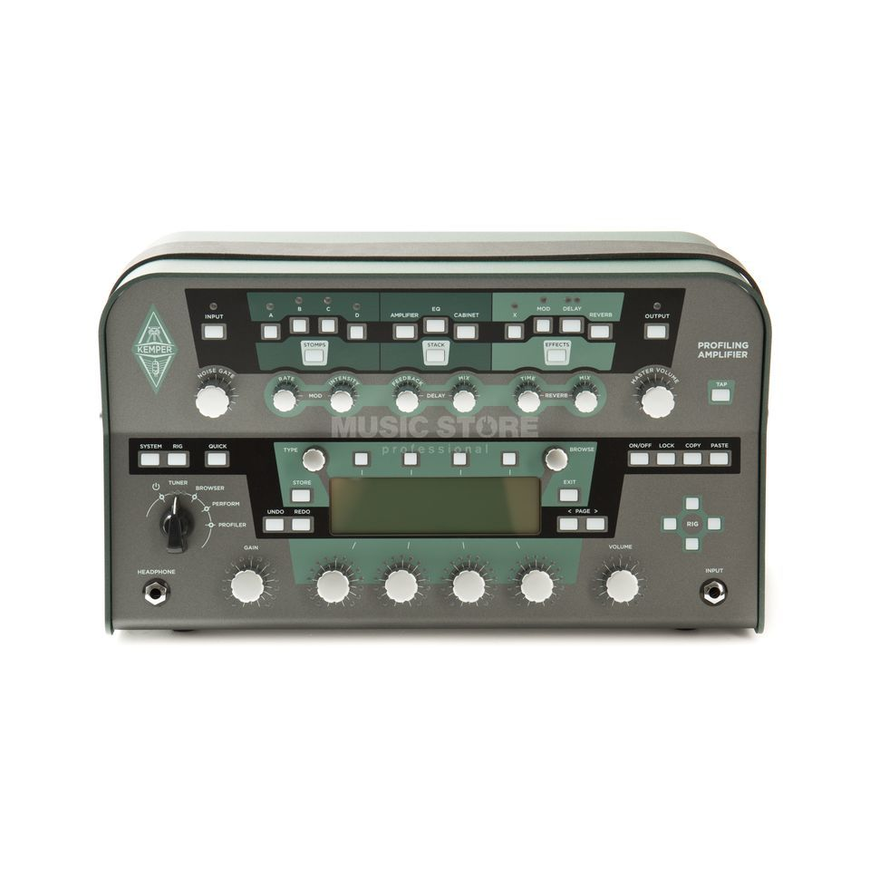 Kemper Profiler Head Amp Modeller (Black) Product Image