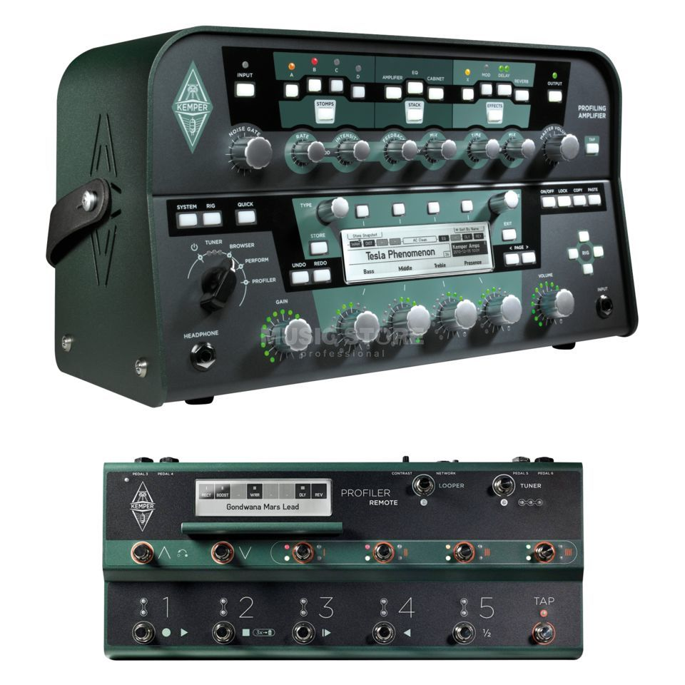 Kemper Profiler Head Amp Modeller & Remote (Black) Product Image