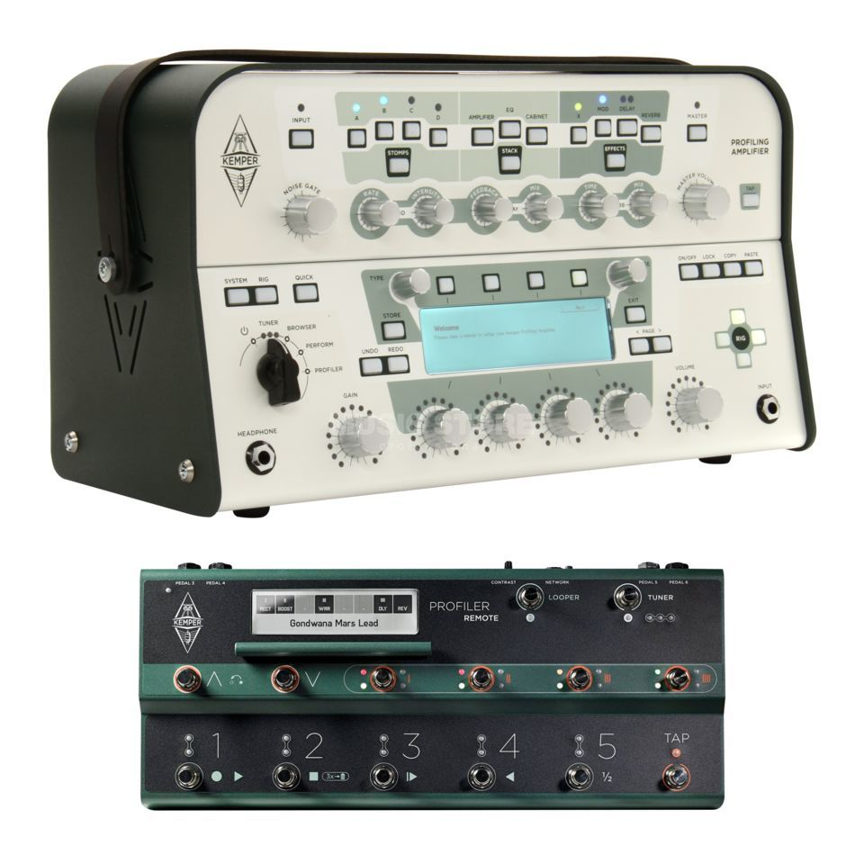 Kemper Profiler Head White + Remote Produktbild