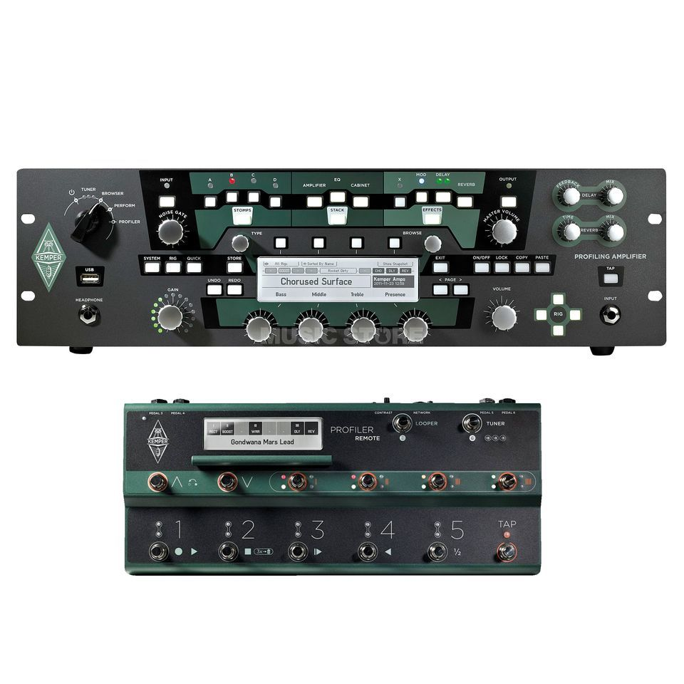 Kemper Profiler Power Rack + Remote  Produktbillede