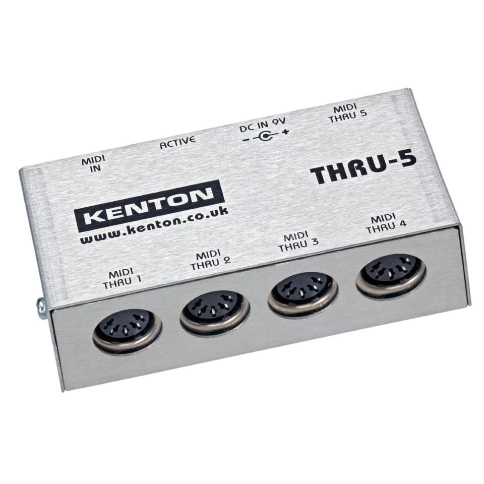 Kenton MIDI THRU 5 1 in 5 MIDI Thru Box Produktbillede
