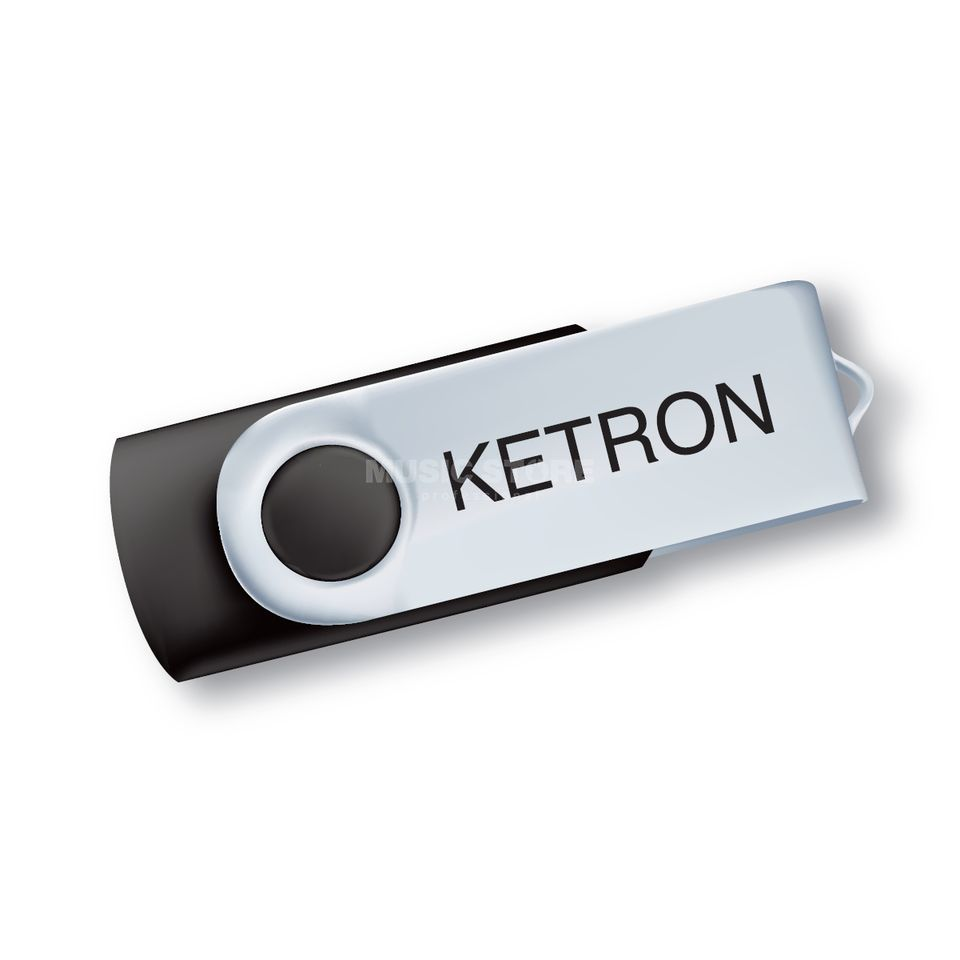 Ketron Pen Drive 2012 USB Stick Song Styles Hits Pop f. Audya Produktbild