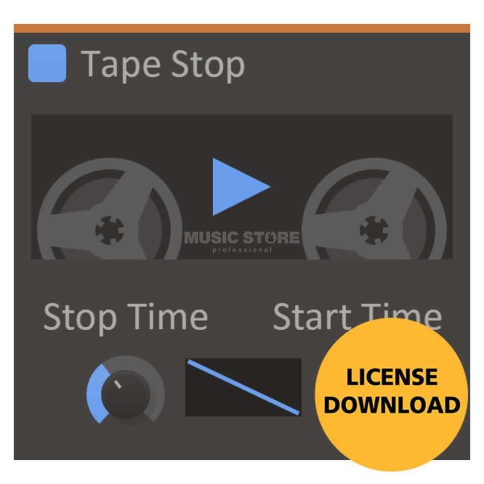 Kilohearts Tape Stop License Code Productafbeelding