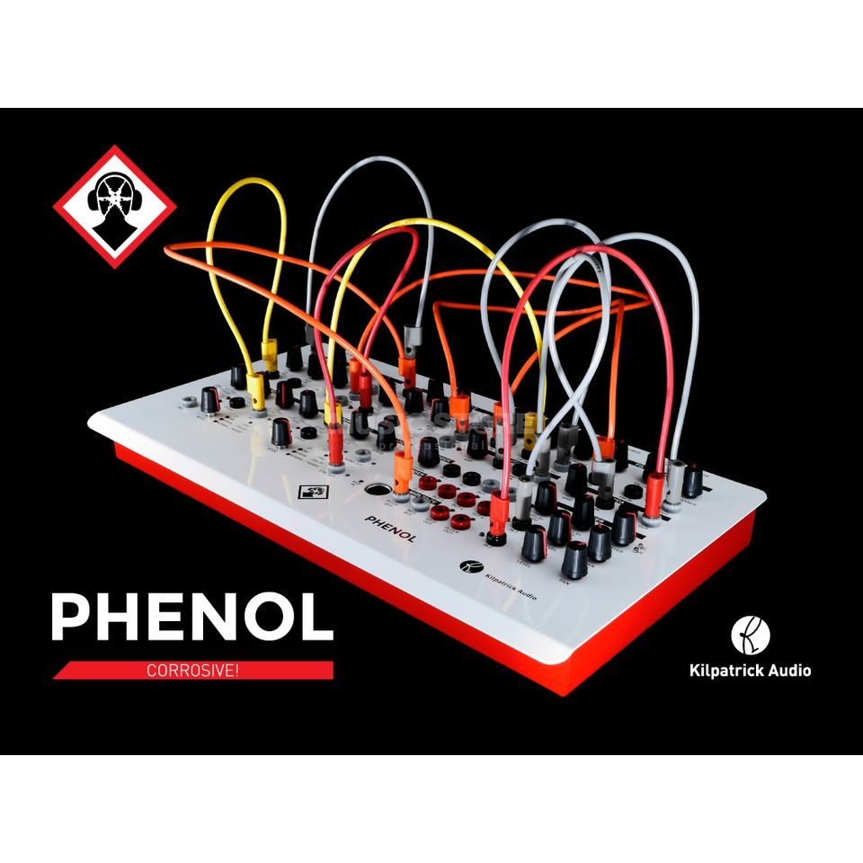 Kilpatrick Audio Phenol semimodularer Desktop Synth Product Image