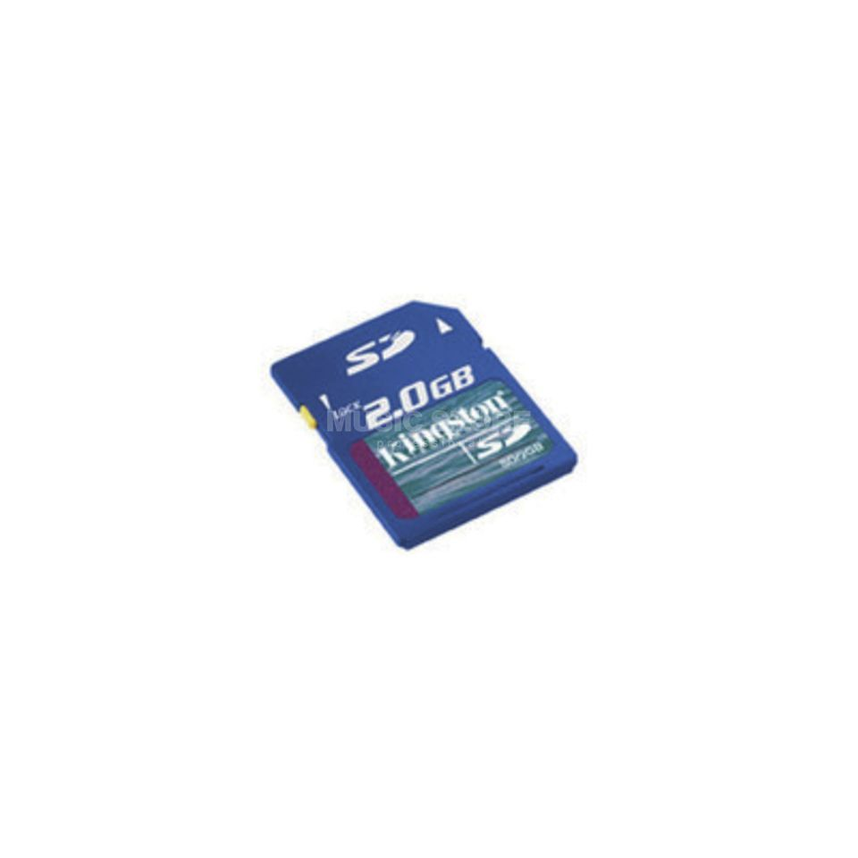 Kingston SD Secure Digital Card / 2 GB für SD-Card Recorder Produktbild
