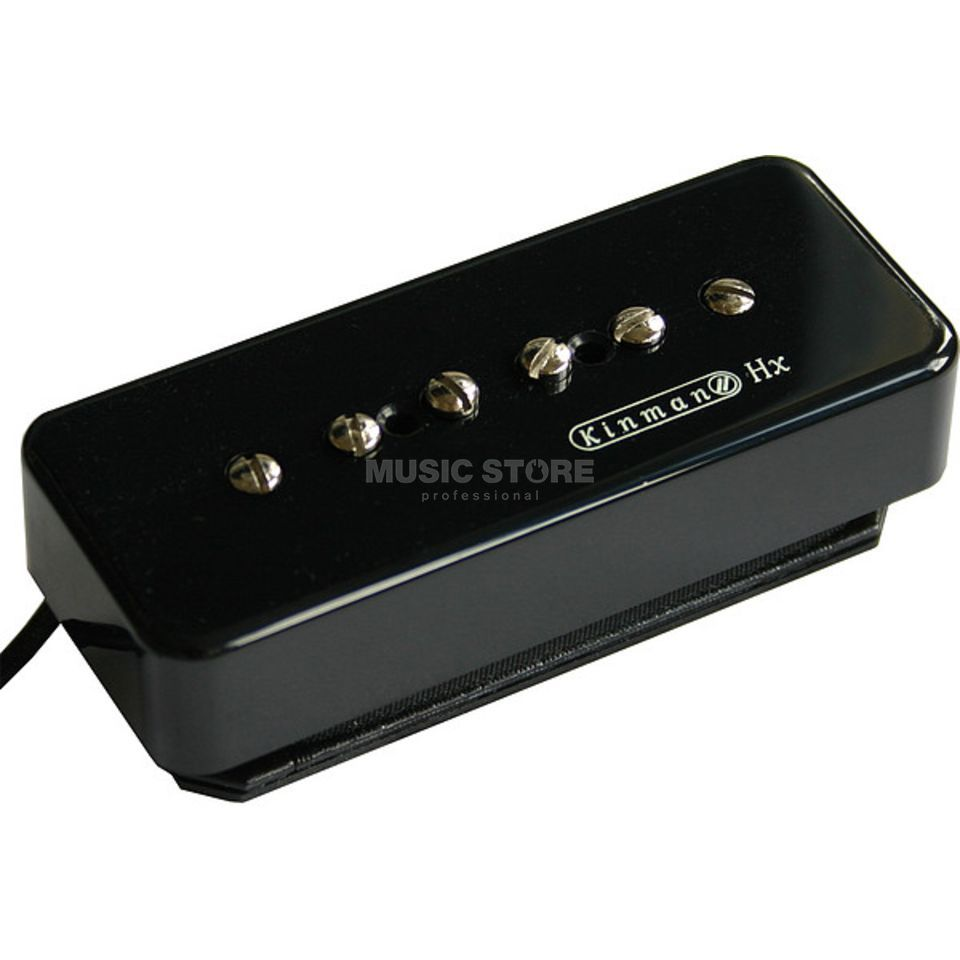 Kinman Pickups P-90 HX Bridge Black Productafbeelding