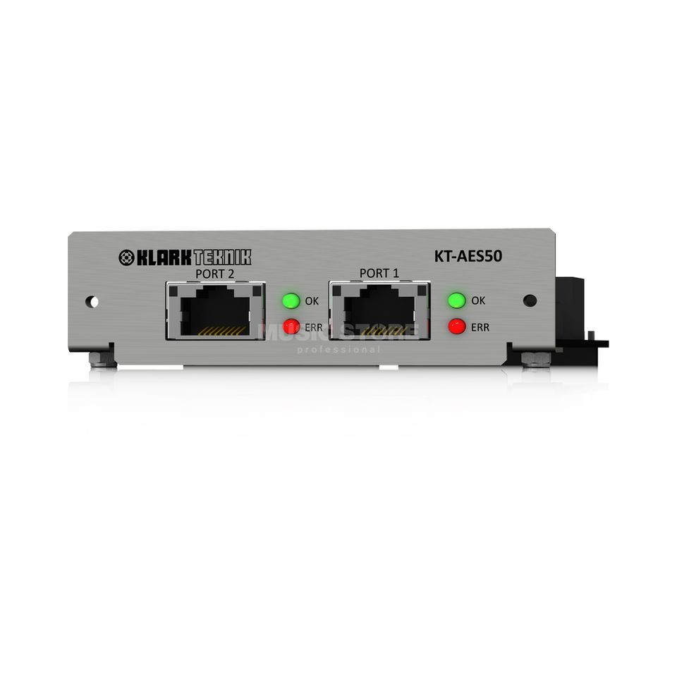 Klark Teknik KT-AES50 CM1 Network Module 48 Bidirectional Channels Product Image