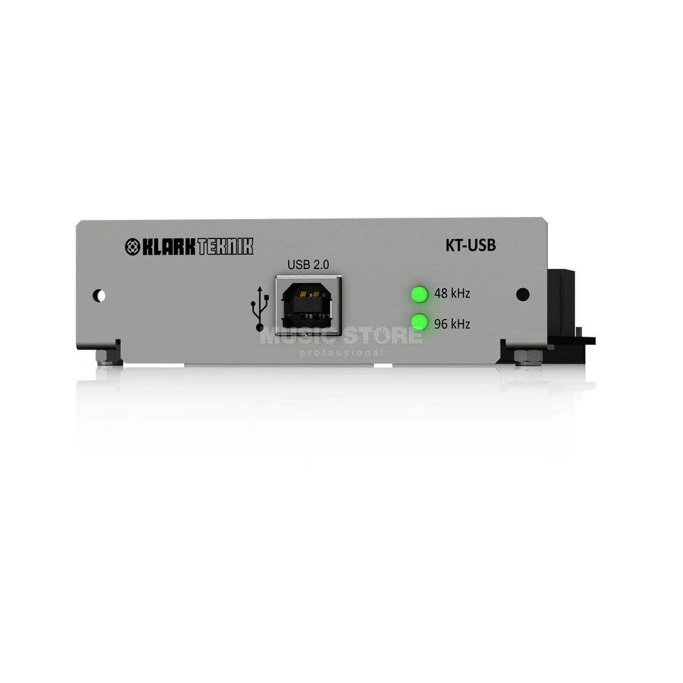 Klark Teknik KT-USB 2.0 CM1 Network Module 48 Bidirectional Channels Product Image