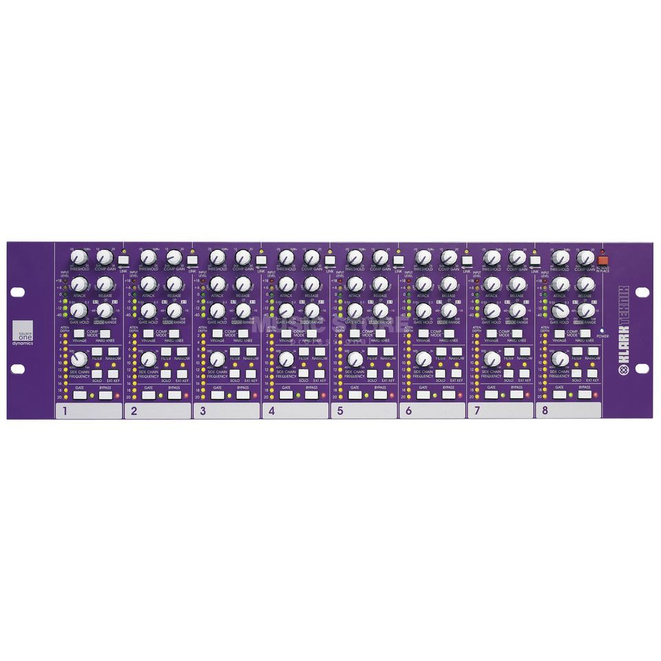 Klark Teknik Square ONE Dynamics processor, 8-Channel Produktbillede