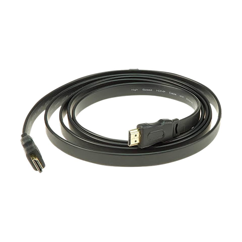 Klotz HDMI 1.4a High Speed A-A, 5 Meter, Flachkabel Produktbild