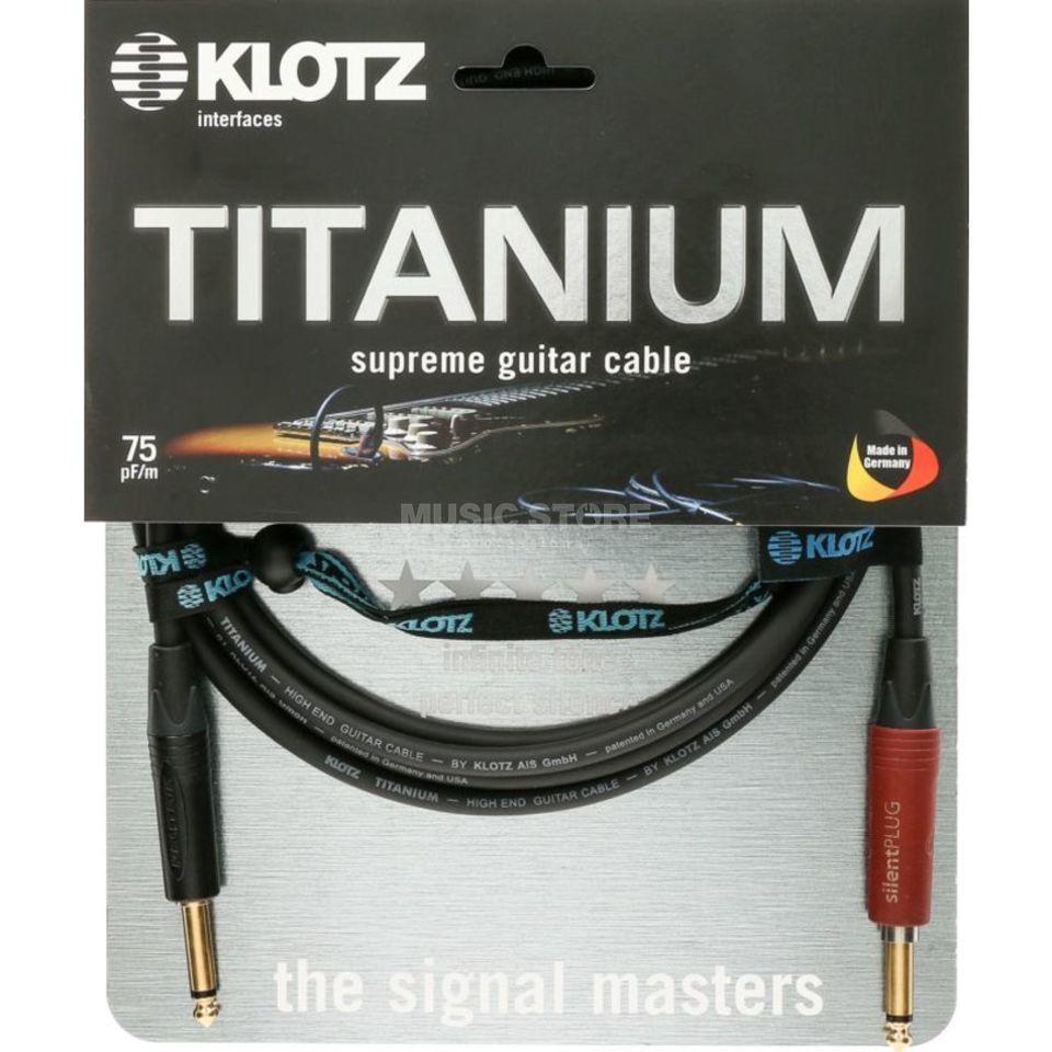 Instrument Cable, 3m, straight Titanium, Silent, TI-0300PSP
