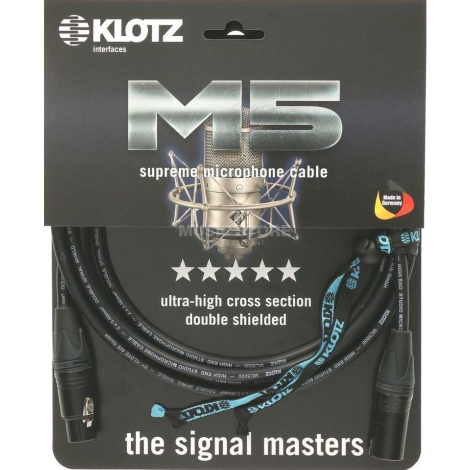 Klotz Microphone Cable 3m XLR Supreme, M5FM03