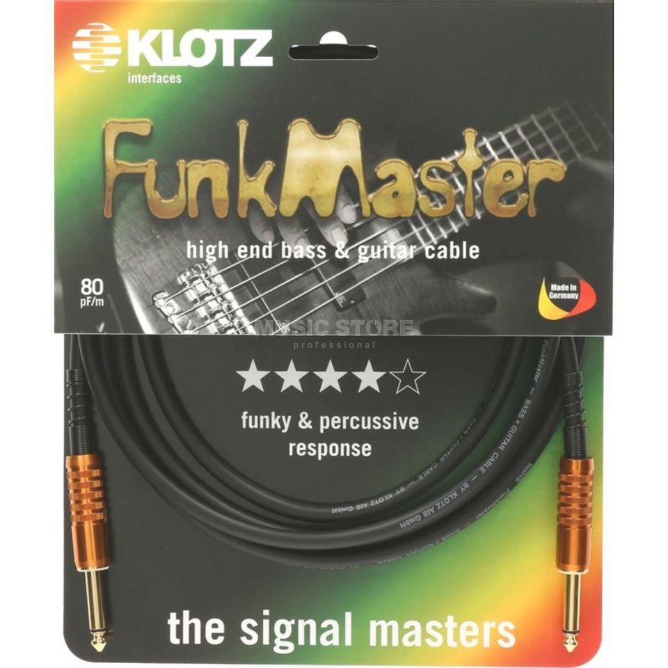 KLOTZ Stevens FunkMaster Gitarren /& Basskabel mit gewinkelter klinke 6m