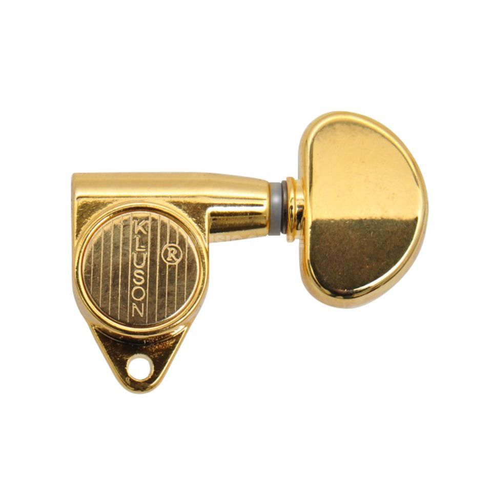 Kluson Round Back Mechaniken 3+3 90° Gold Product Image